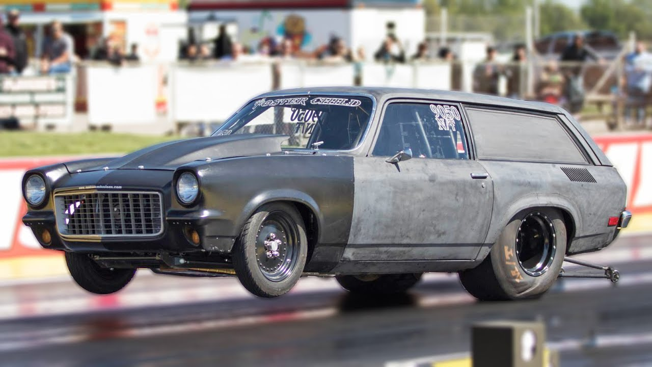 big block chevy vega