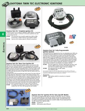 American Legend Motorcycles  Electronic Ignitions