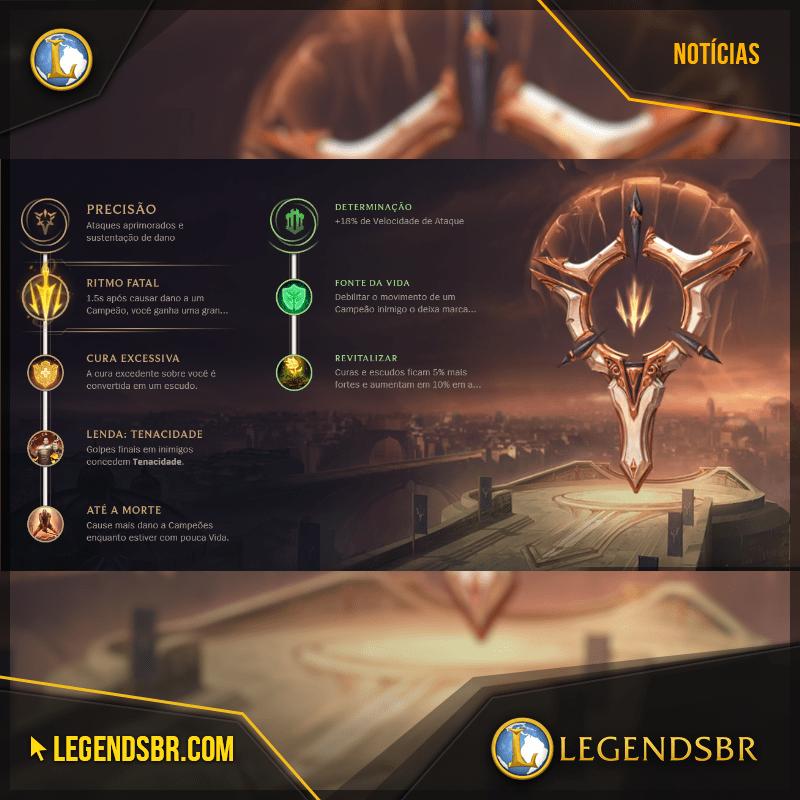 Saiba quais runas usar em todos os campeões - LegendsBR