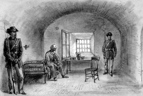 Image result for jefferson davis jailed