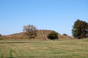 Cahokia Mounds, Monks Mound, October 2010