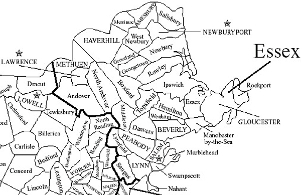 Map Haverhill Ma Area