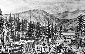 Donner Lake Encampment
