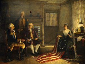 Betsy Ross The Nations First Flag Legends Of America