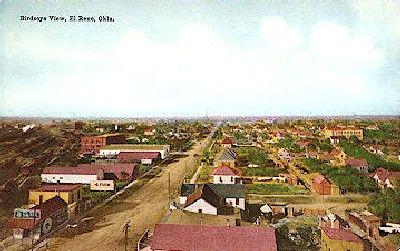 El Reno Oklahoma Vintage Postcard