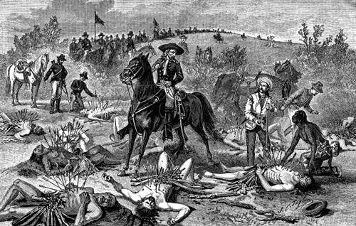 Indian Battles in Kansas  Legends of America