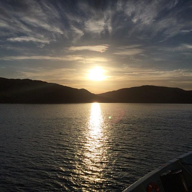 Sunset over Gigha