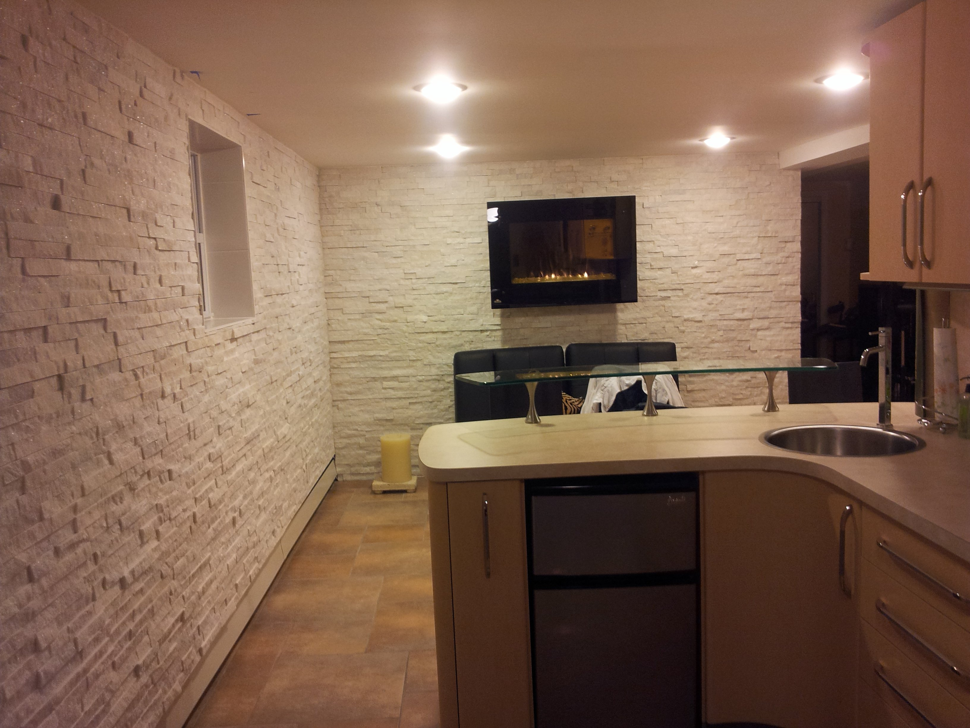 Artic White Ledgestone  Legends Stone  Natural Stone
