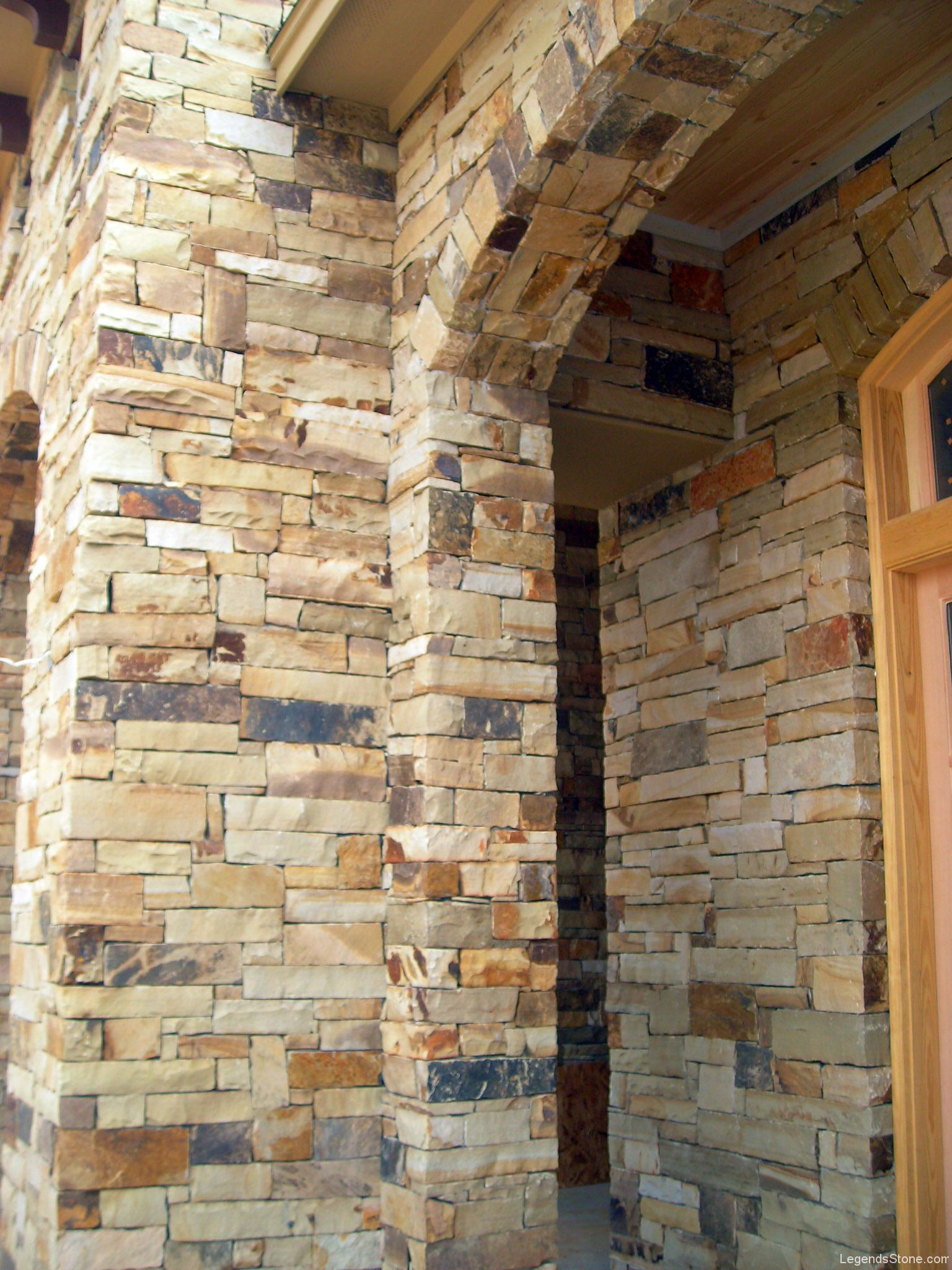 Oklahoma Multi Color Chop  Legends Stone  Natural Stone