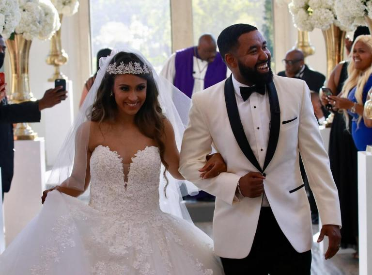 Bryan Andrew Wilson and Tiffany Morriar Get Married!