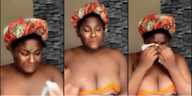 I am tired of watching p@rn – Lady says as she cries profusely and begs for love