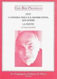 Copertina raccolta contenente La signora Frola e il signor Ponza suo genero