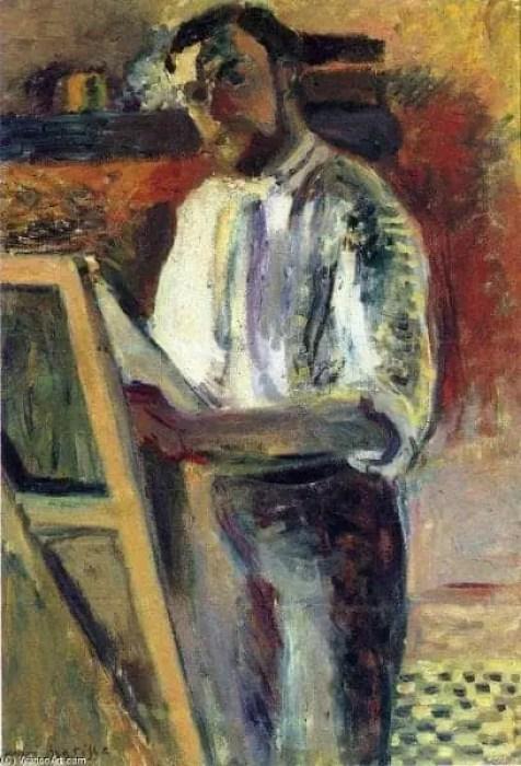 Henri-Matisse-Self-Portrait-in-Shirtsleeves