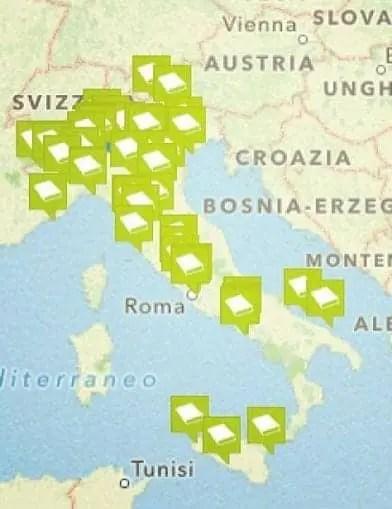 mappa Un'app per scoprire le città attraverso i libri: Cityteller Letteratura