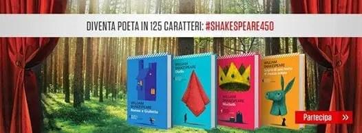 Feltrinelli.-shakespearejpg L'omaggio della Feltrinelli ai 450 anni dalla nascita di Shakespeare Letteratura