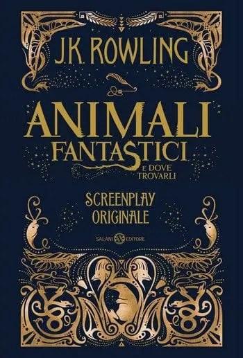 Animali-fantastici-e-dove-trovarli-cover Animali fantastici e dove trovarli. Screenplay originale di J. K. Rowling Anteprime