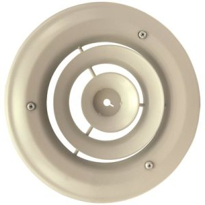 ROUND CEILING DIFF & DAMPERS