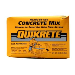 BUILDING MATERIALS CONCRETE MIX