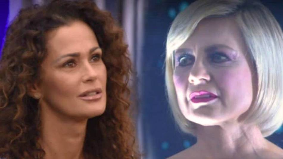 Antonella Elia contro Samantha De Grenet