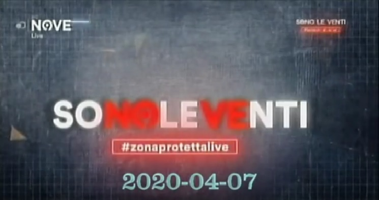 Rivedi Sono le Venti del 07 04 2020 – YouTube