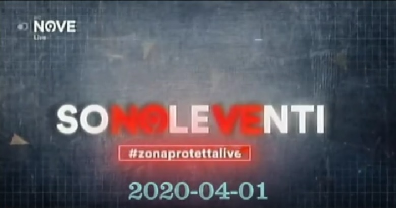 Rivedi Sono le Venti del 01 04 2020 – YouTube