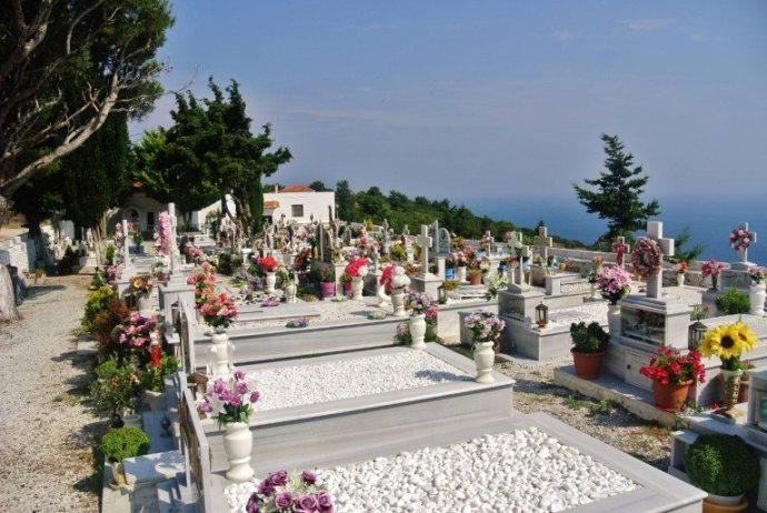 Old Chora (Old Town) of Alonissos Cemetery