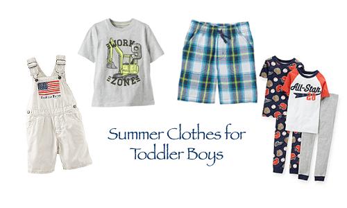 Summer Clothes for Toddler Boys
