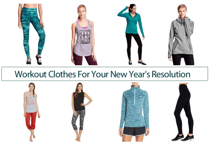 a0998ab360888 Workout Clothes For Your New Year s Resolution