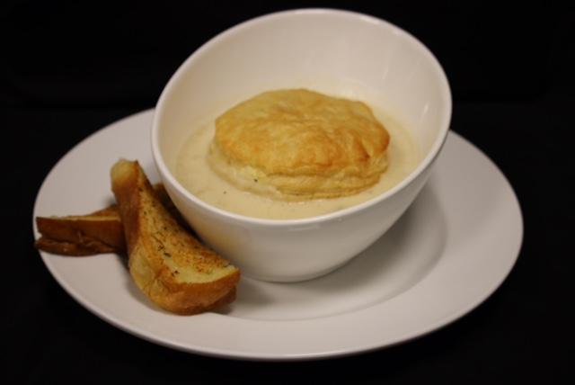 Cream Chowder with Toast Legion119