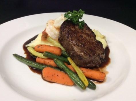 Legion119 Steak and Prawns