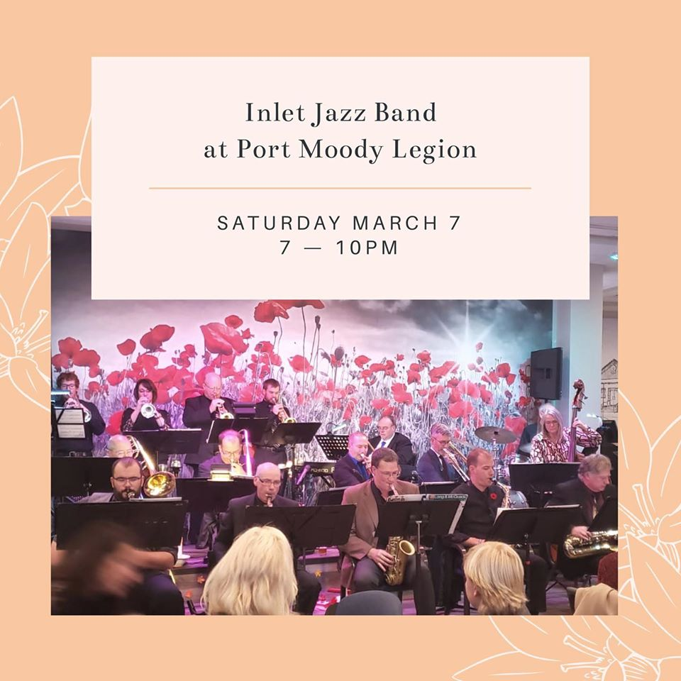 Inlet Jazz Band Concert on March 7  2020