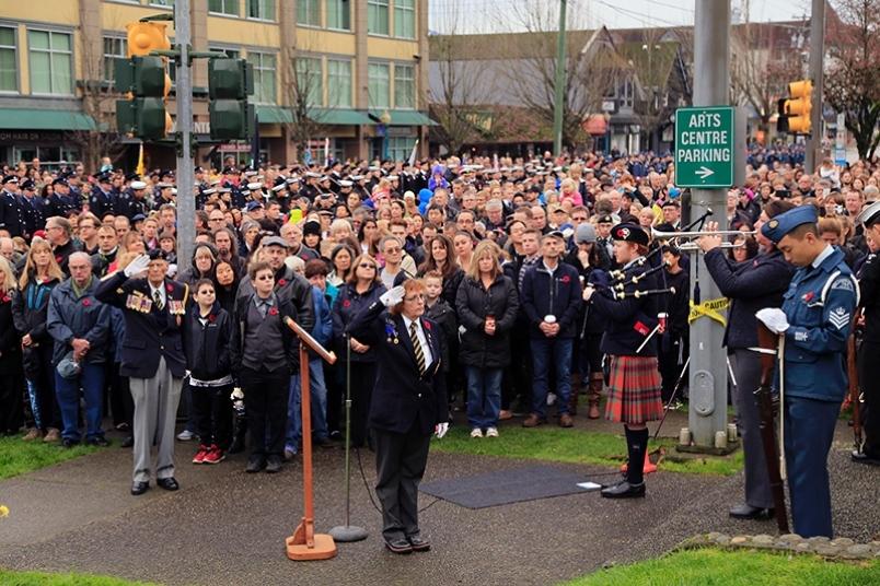 Legion119 Port Moody Crowd at Kyle Centre