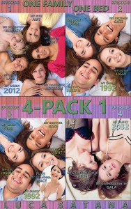 One Family One Bed: 4-Pack 1