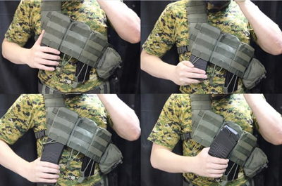 Tactical Bandelier MOLLE Camouflage  Legion USA