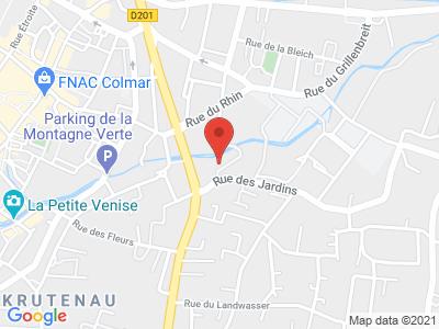 colmar 68000 8 rue des metiers