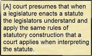 Statutory Construction Quote 1