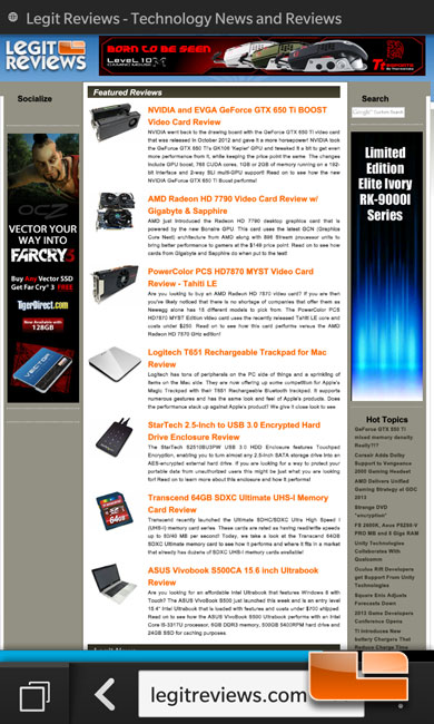 Blackberry Z10 Smartphone Review - Page 3 of 6 - Legit Reviews Blackberry Z10 Software & Blackberry 10 Operating System