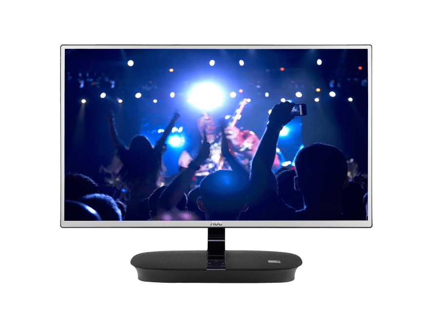 AOC 24inch IPS Monitor i2473Pwm Houses Two 7 Watt Onkyo
