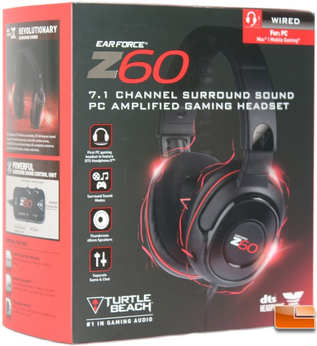 Turtle Beach Z60 71 Audio Gaming Headset Review Legit ReviewsTurtle Beach Z60 71 Gaming Headset