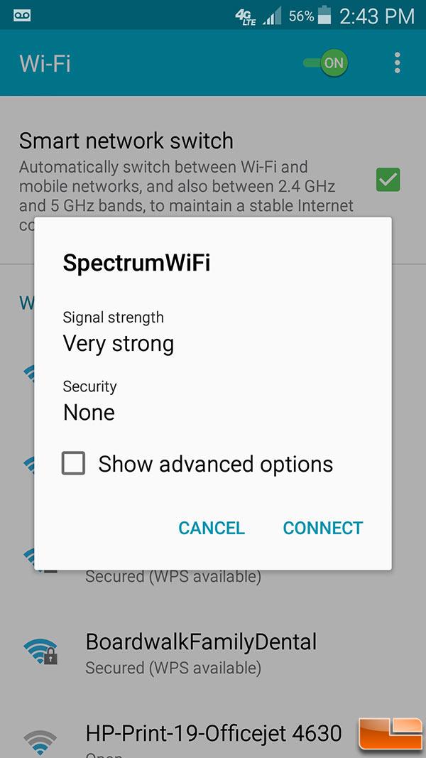 Free Charter Spectrum WiFi Internet Hotspot Speed Tested