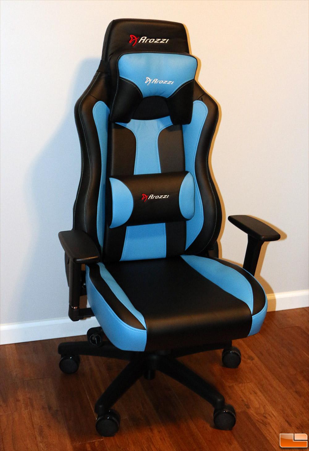 gaming chair review evenflo quatore 4 in 1 high deep lake teal arozzi vernazza series legit reviews