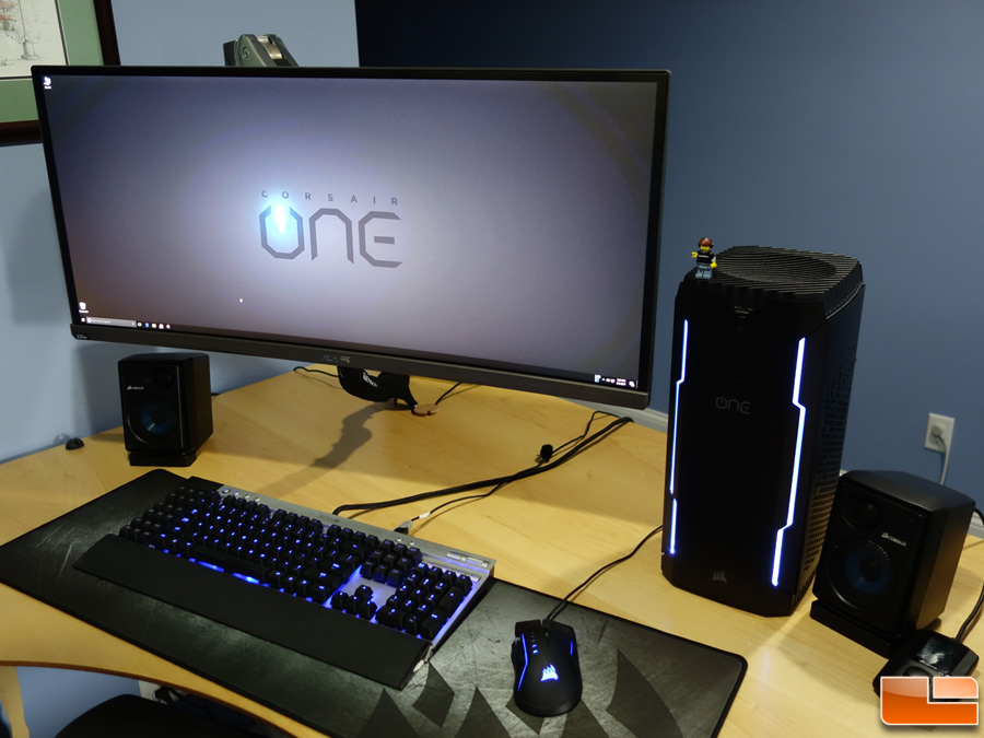 Corsair One Pro 1080 Ti Compact Gaming PC Review  Legit