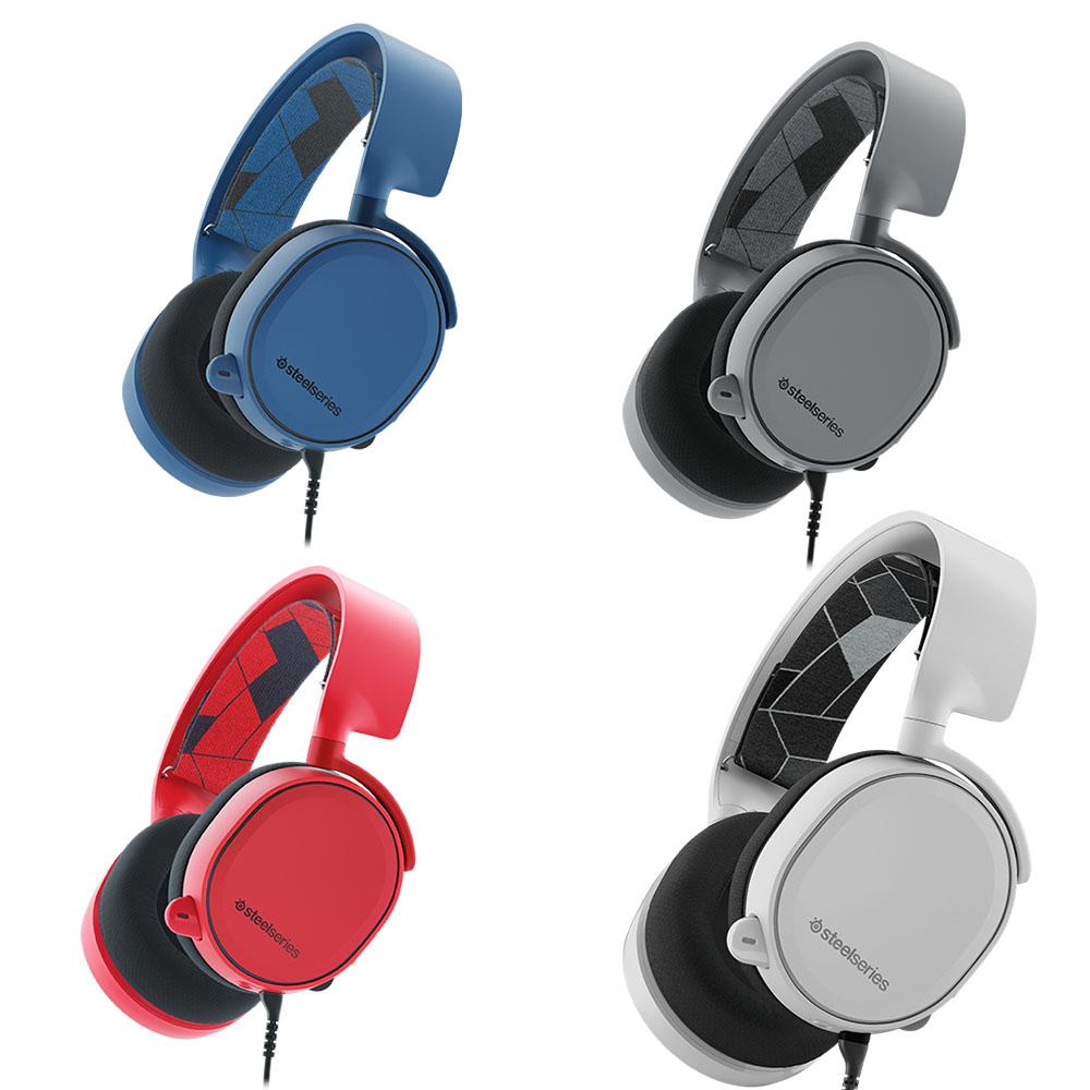 SteelSeries Arctis 3 Gaming Headset Review - Legit ReviewsSteelSeries Arctis 3 Gaming Headset - Stylish Surround