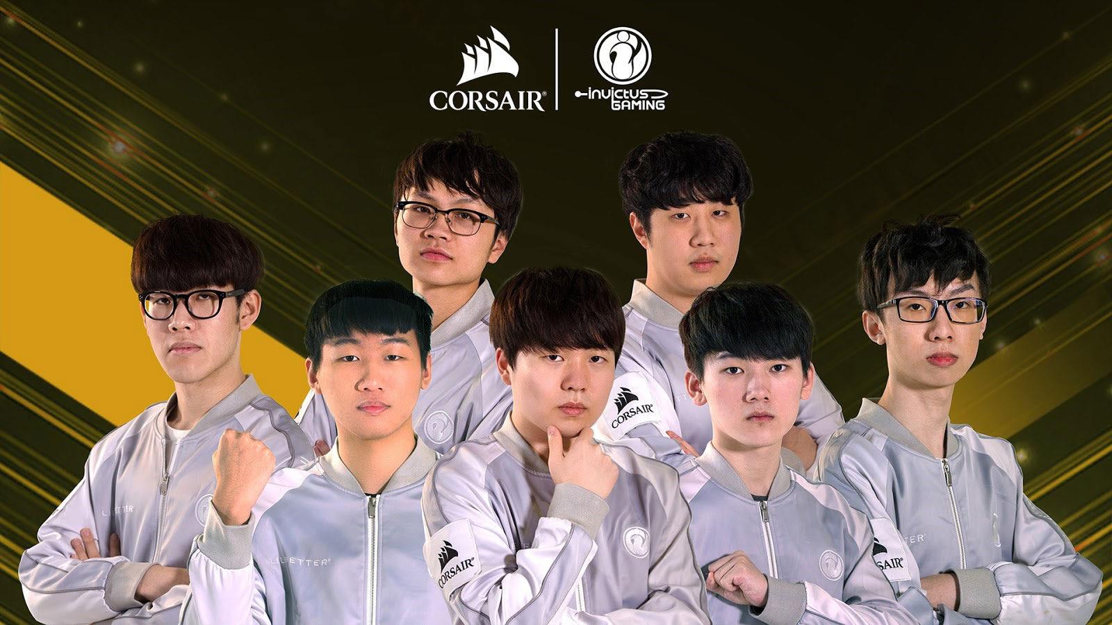 CORSAIR Partners with Esports Team Invictus Gaming - Legit Reviews