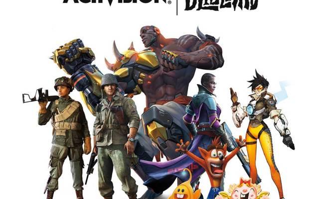 Activision Blizzard Licenses Fan Favorite Games Franchises