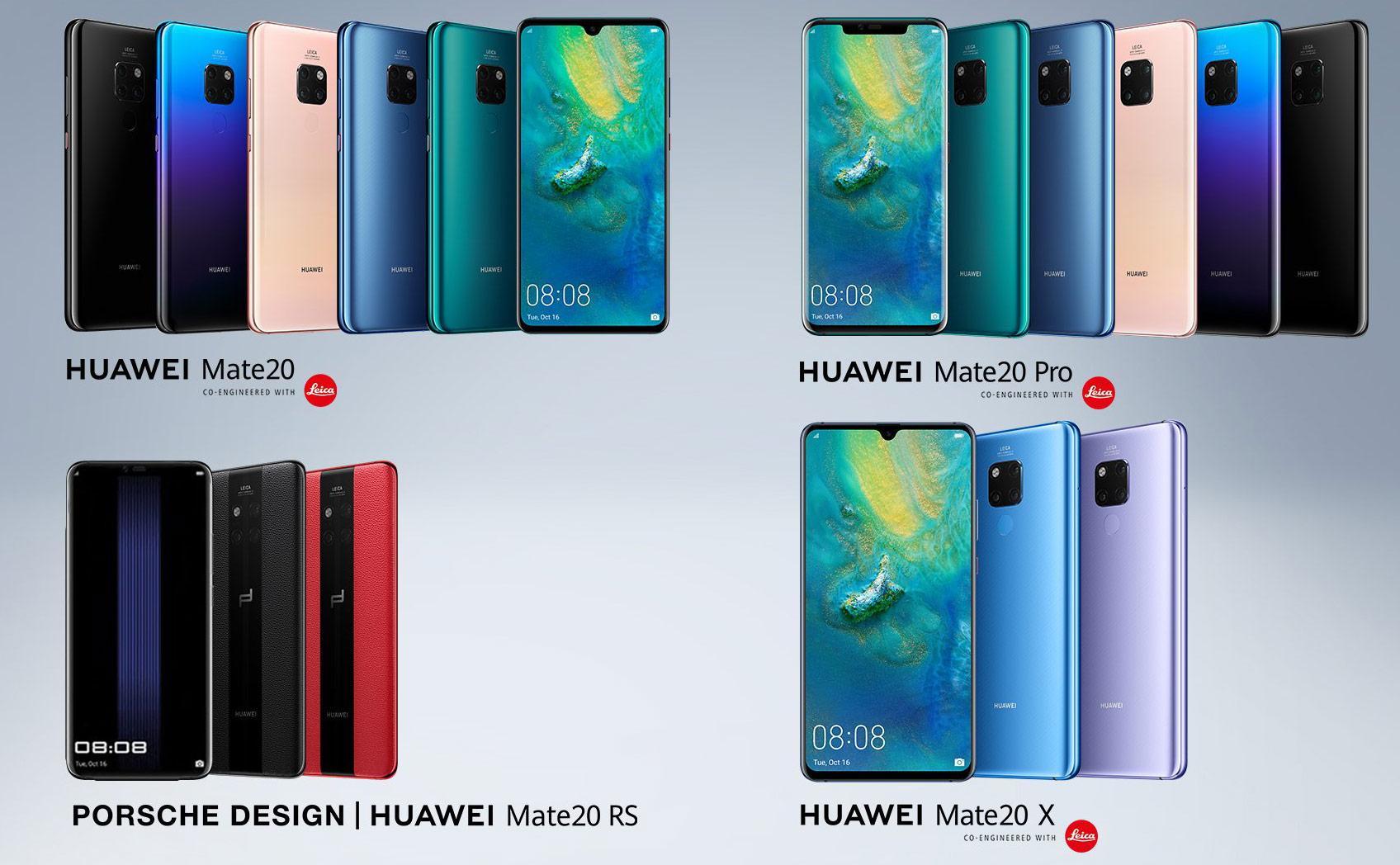 Huawei Unveils HUAWEI Mate 20 Series - Legit Reviews