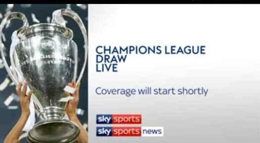 UEFA Champions League Draws Today & Europa League Draws