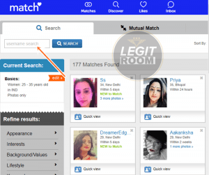 Photo match search