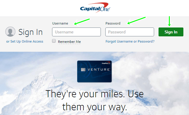 Apply For Capital One Quicksilver Credit Card With Account sign in