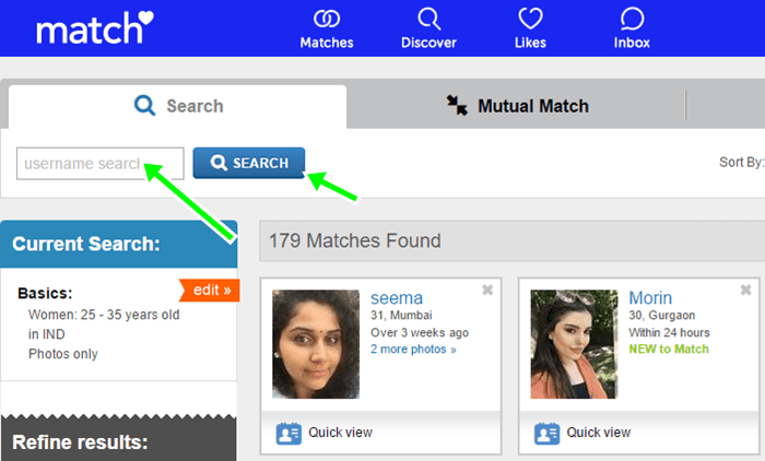 Match up dating site